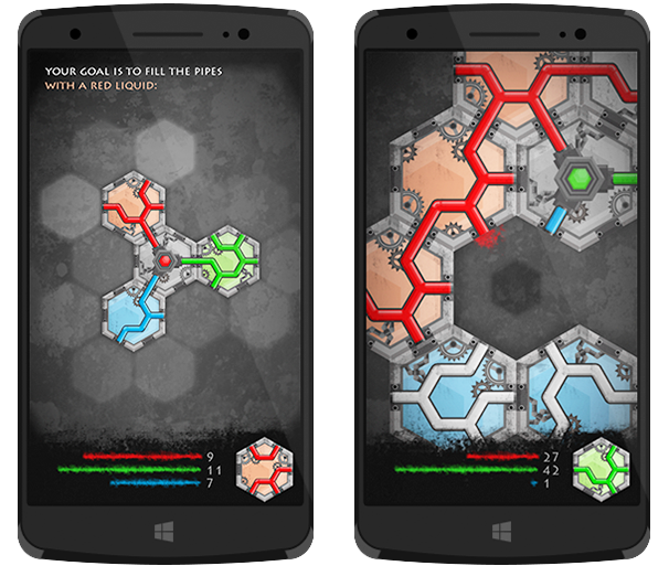HexaLines screenshot
